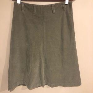2/$10 🎀corduroy midi skirt by Banana Republic